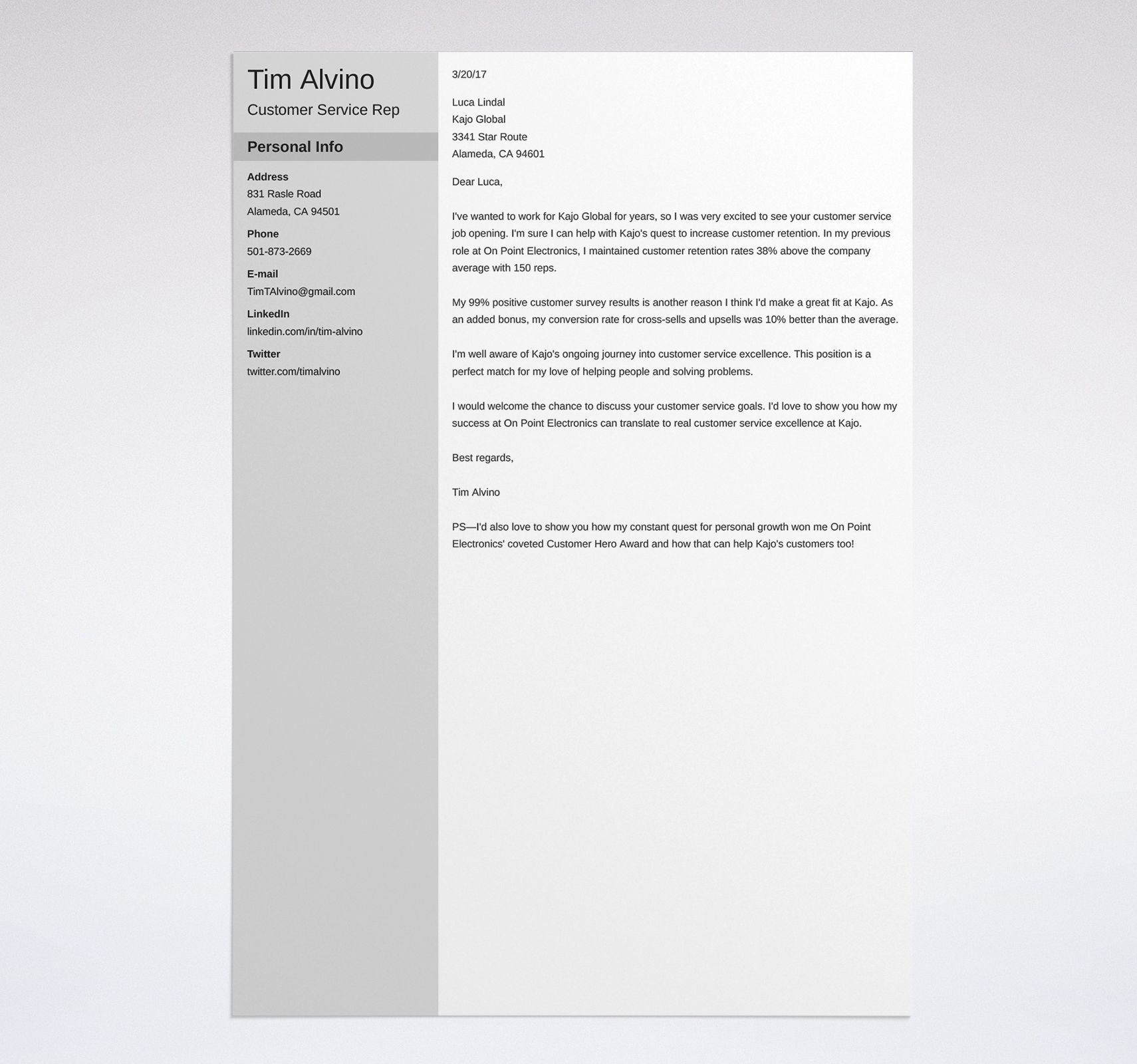 Free Cover Letter Examples For Jobs: 10+ Best Samples