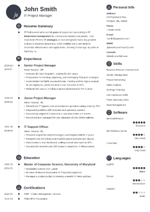 Good Resume Examples | Good Resume Examples For Jobs 99 Free Sample Resumes Guides