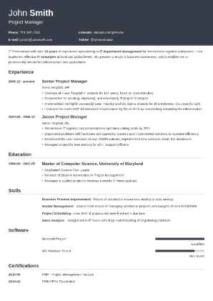 good cv examples for 2018 best 99 sample cvs easy guides