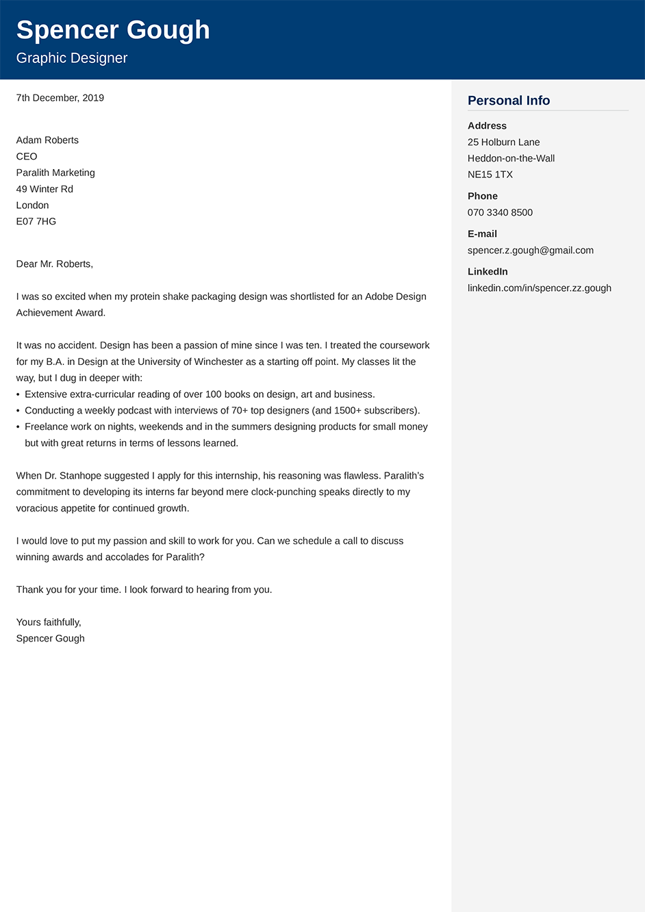 Cover Letter Examples & Samples for Any Job