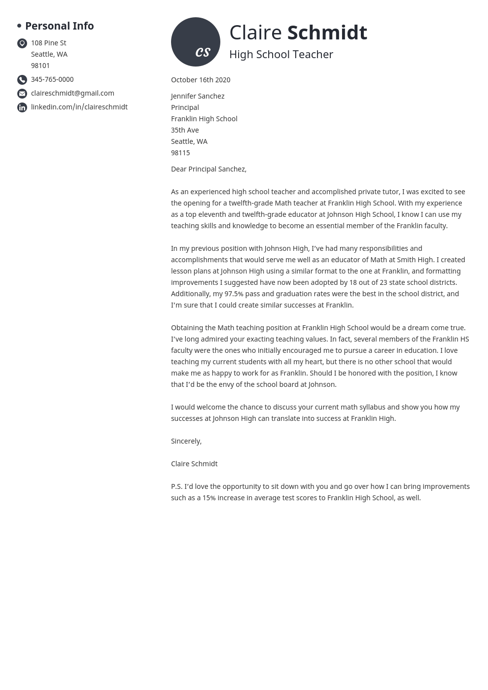 make a free cover letter online