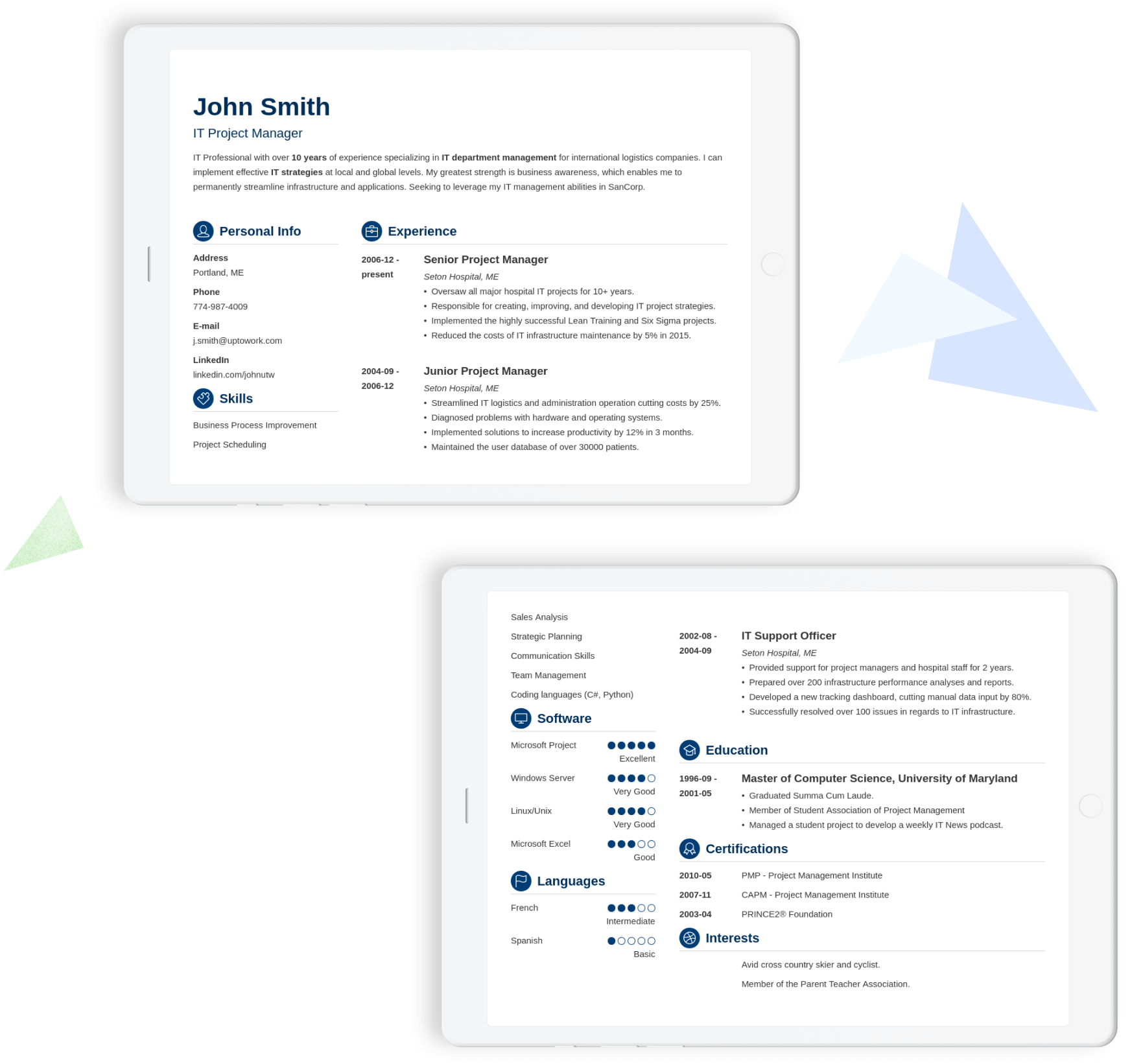 Build a resume that gets you hired