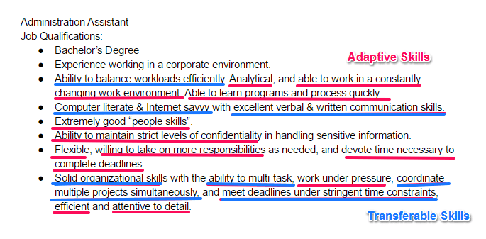 Resume Example Of Job Skills In Resume 30 best examples of what skills to put on a resume proven tips step 4 next look for all the adaptive and transferable that employer wants top regular job related skills
