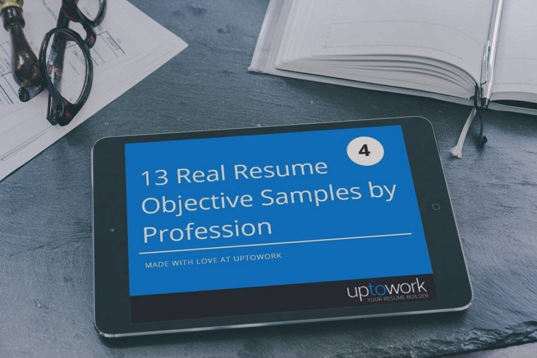 20 resume objective examples use them on your resume tips - Samples Of Objective For Resume