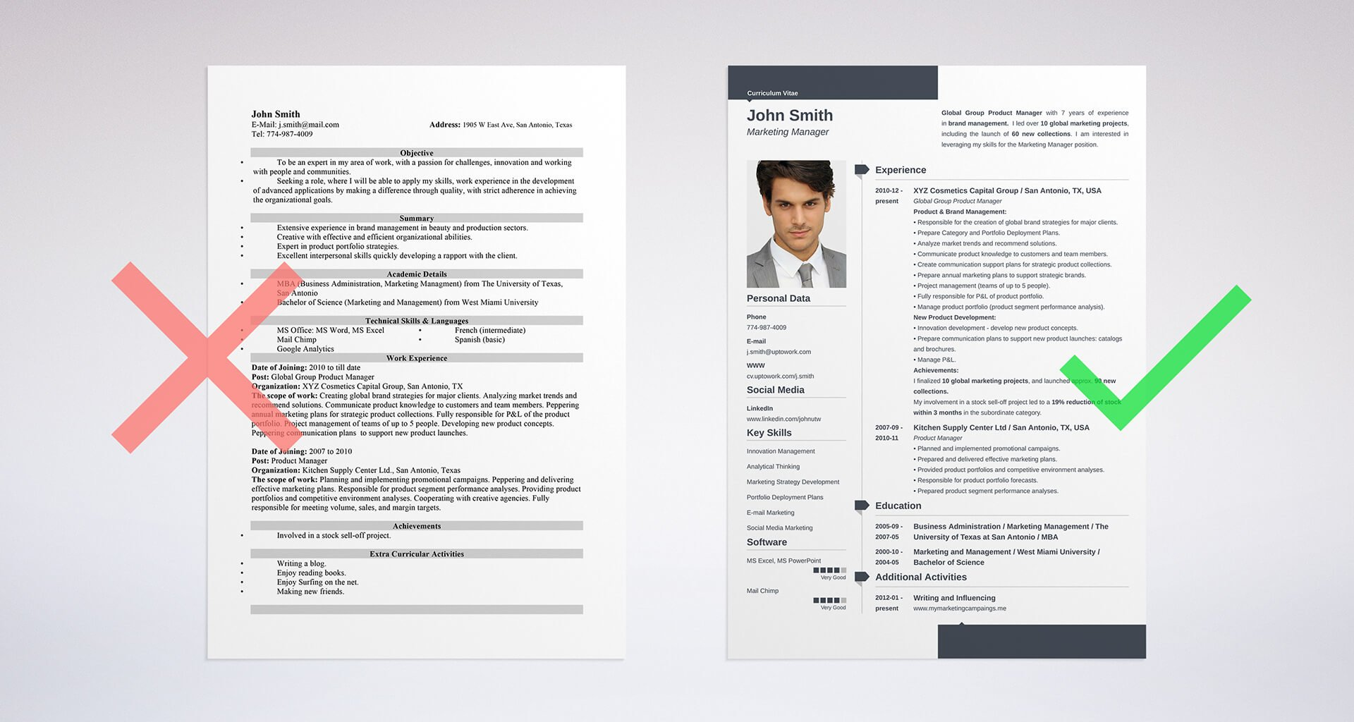 Uptowork  Resume Design Tips