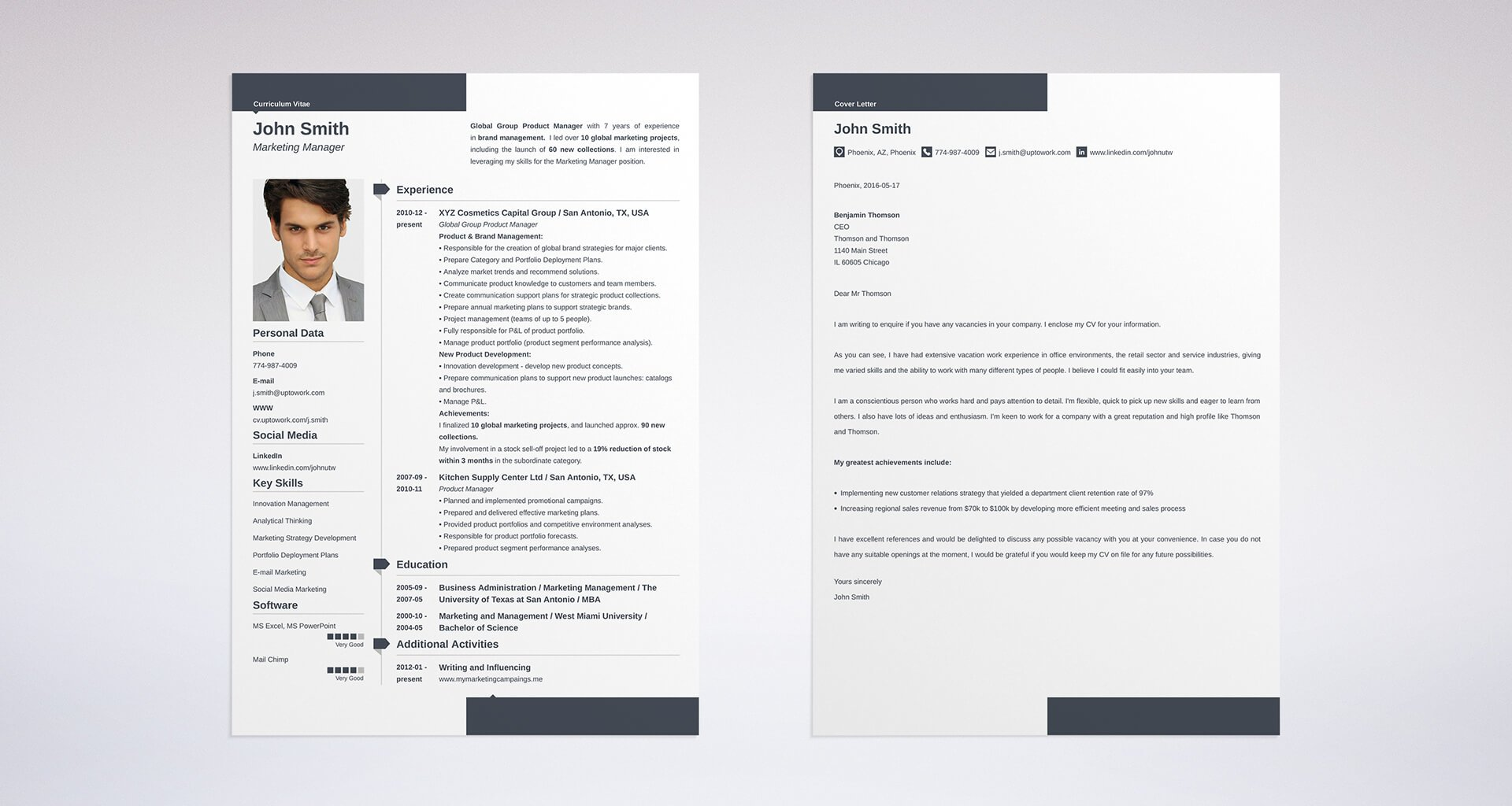 Uptowork  What A Great Resume Looks Like