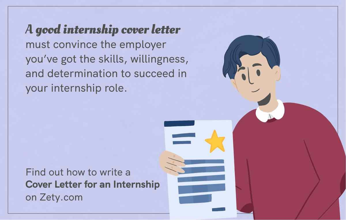A good internship cover letter must convince the employer
