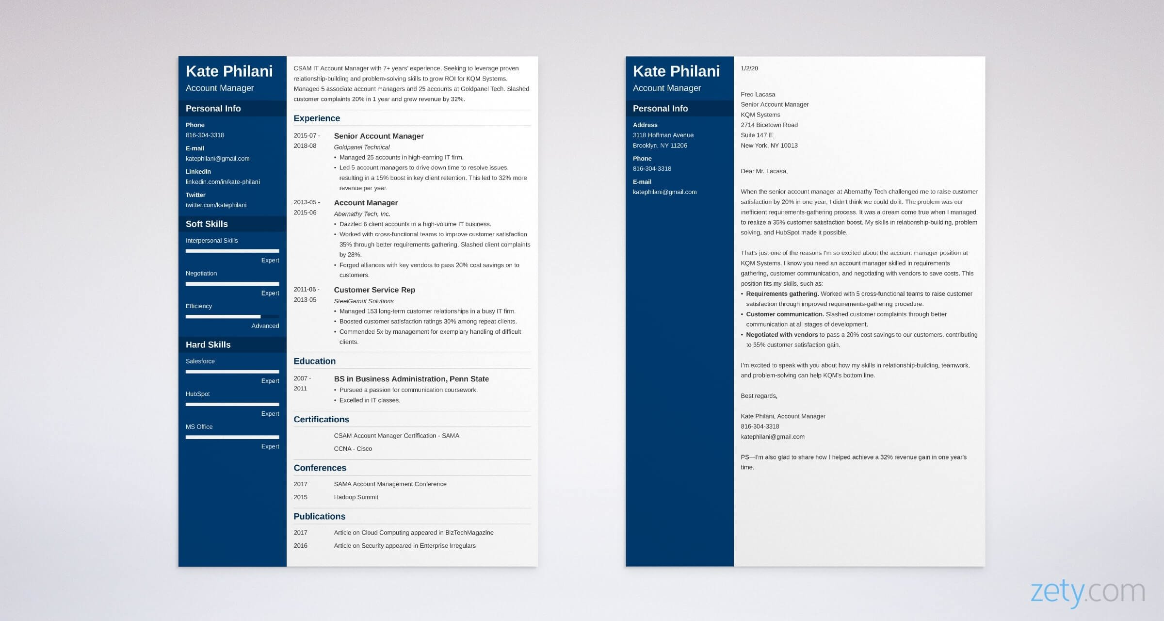 Account Manager Cover Letter Sample Writing Guide