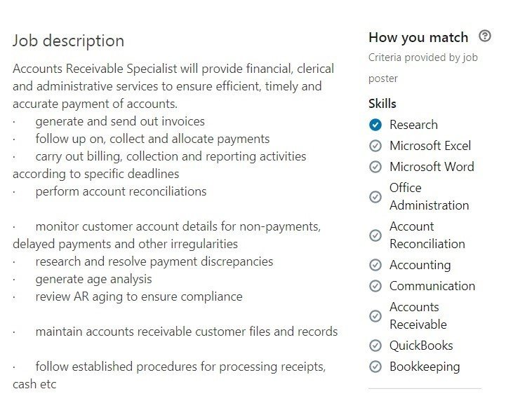 Accounts Receivable Resume Samples [20+ AR Examples]