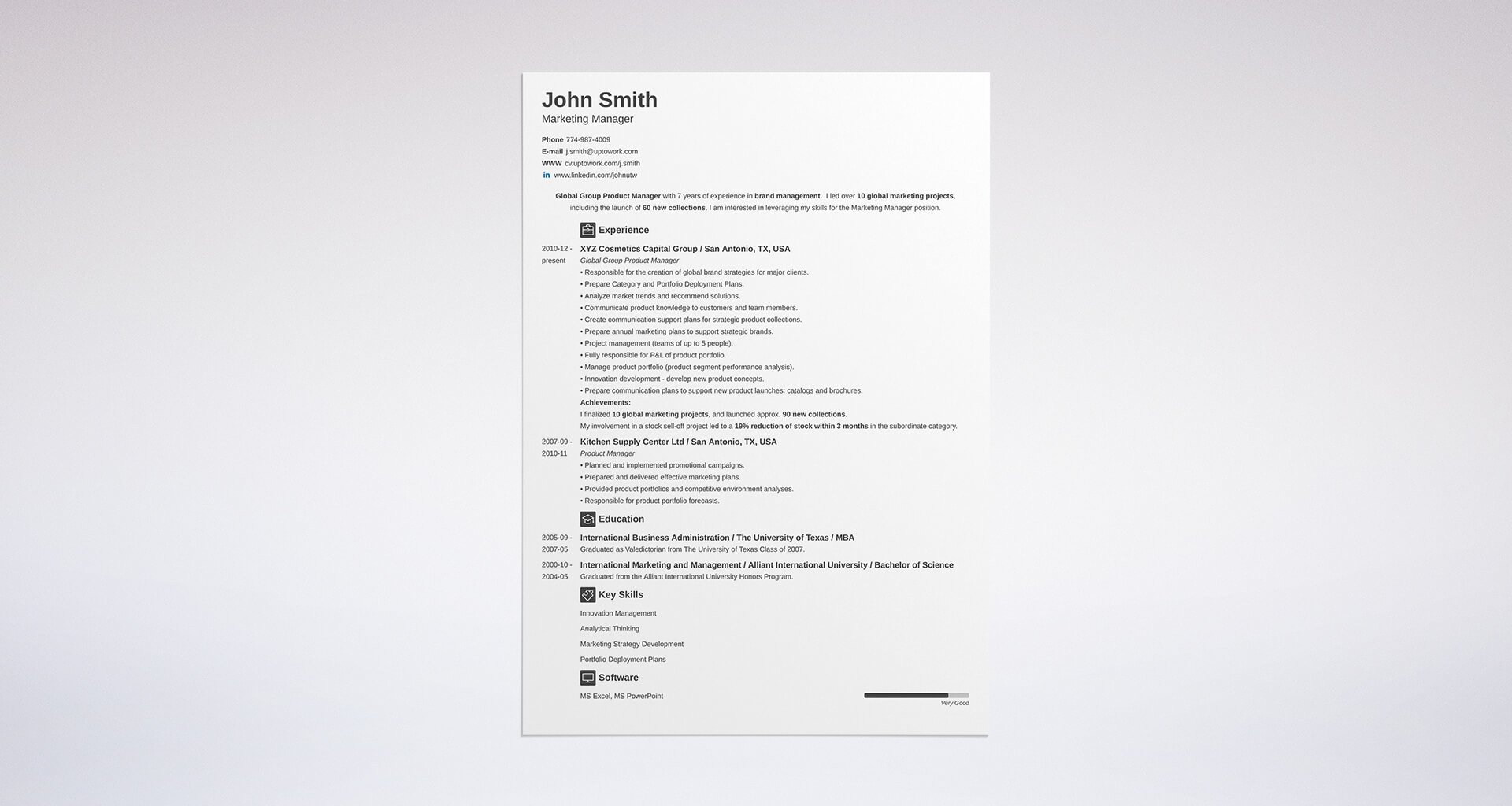 3 resume formats: how to choose the best one [examples] - Format Resume Examples