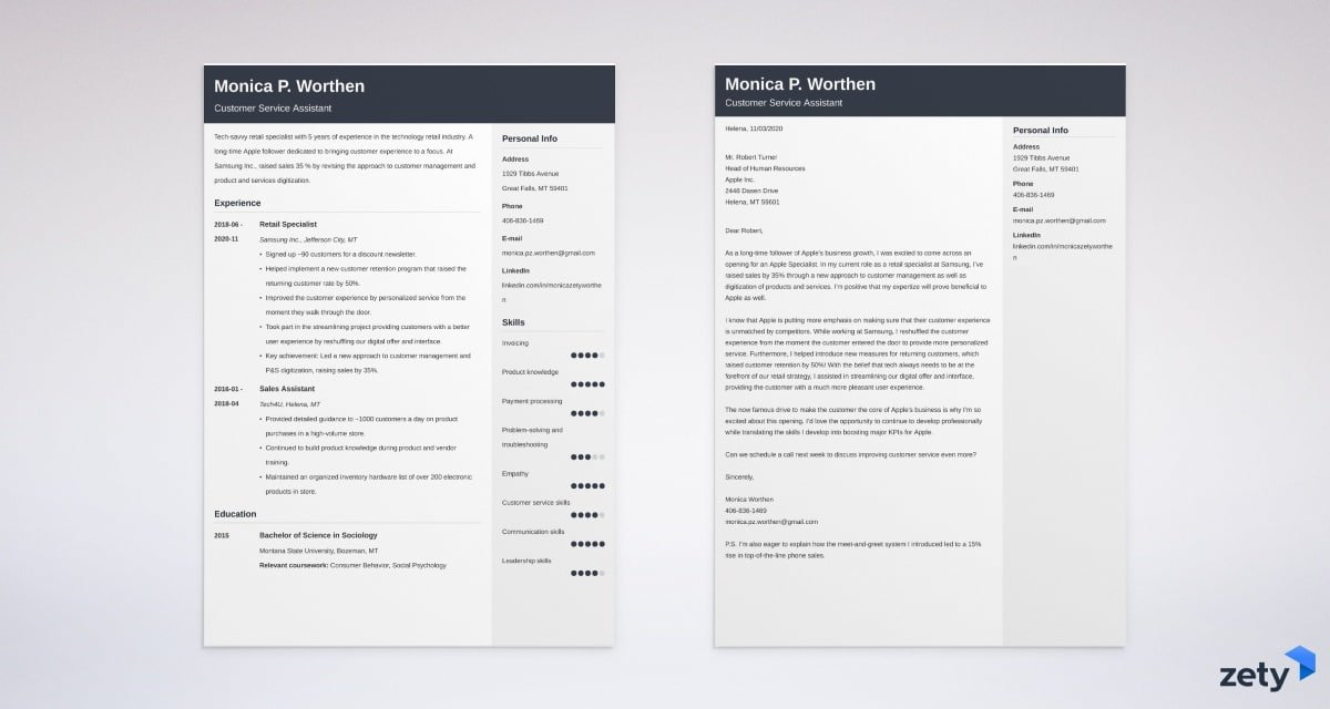 Apple Cover Letter Example And Writing Guide