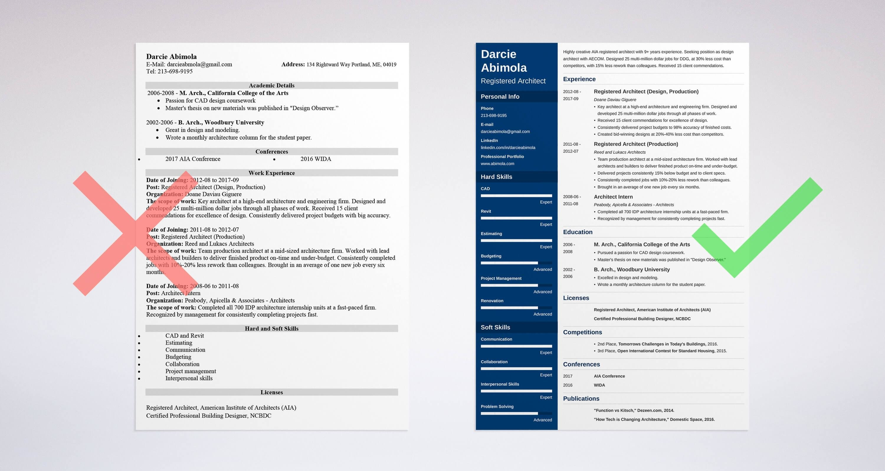Architecture Resume Sample And Complete Guide 20 Examples