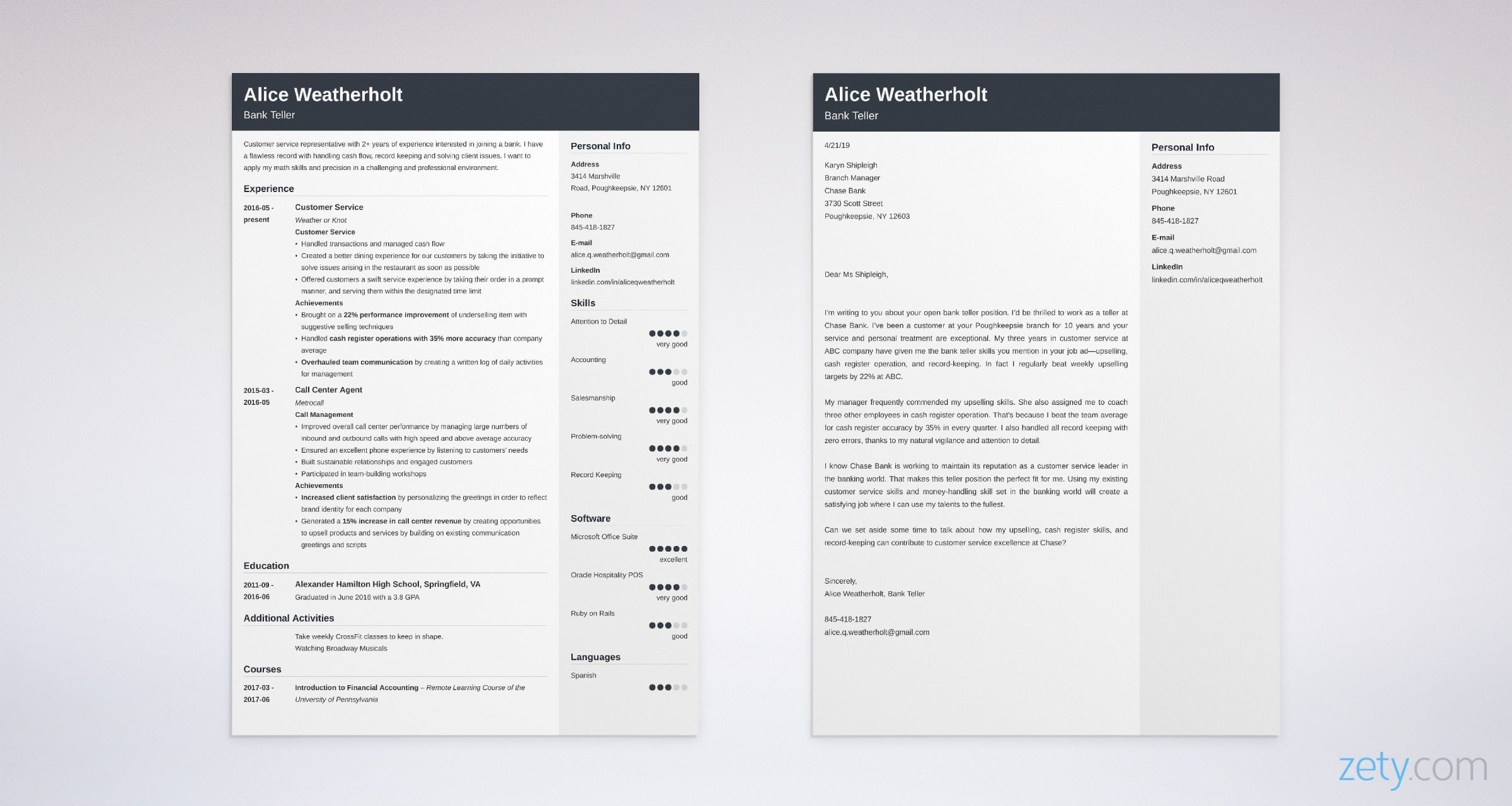 Bank Teller Cover Letter: Samples, Format & Complete Writing ...
