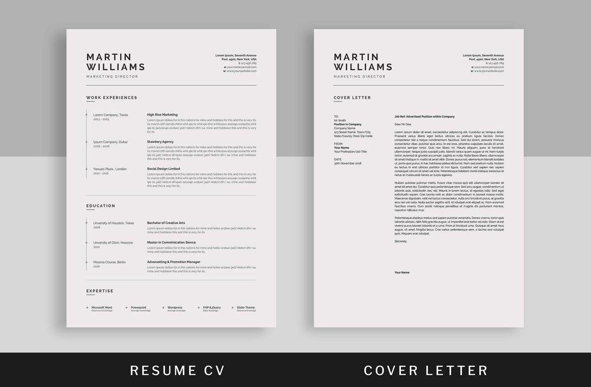 Basic Resume Templates Examples To Download Use