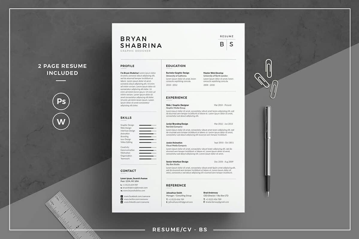 basic resume templates  15  examples to download  u0026 use now