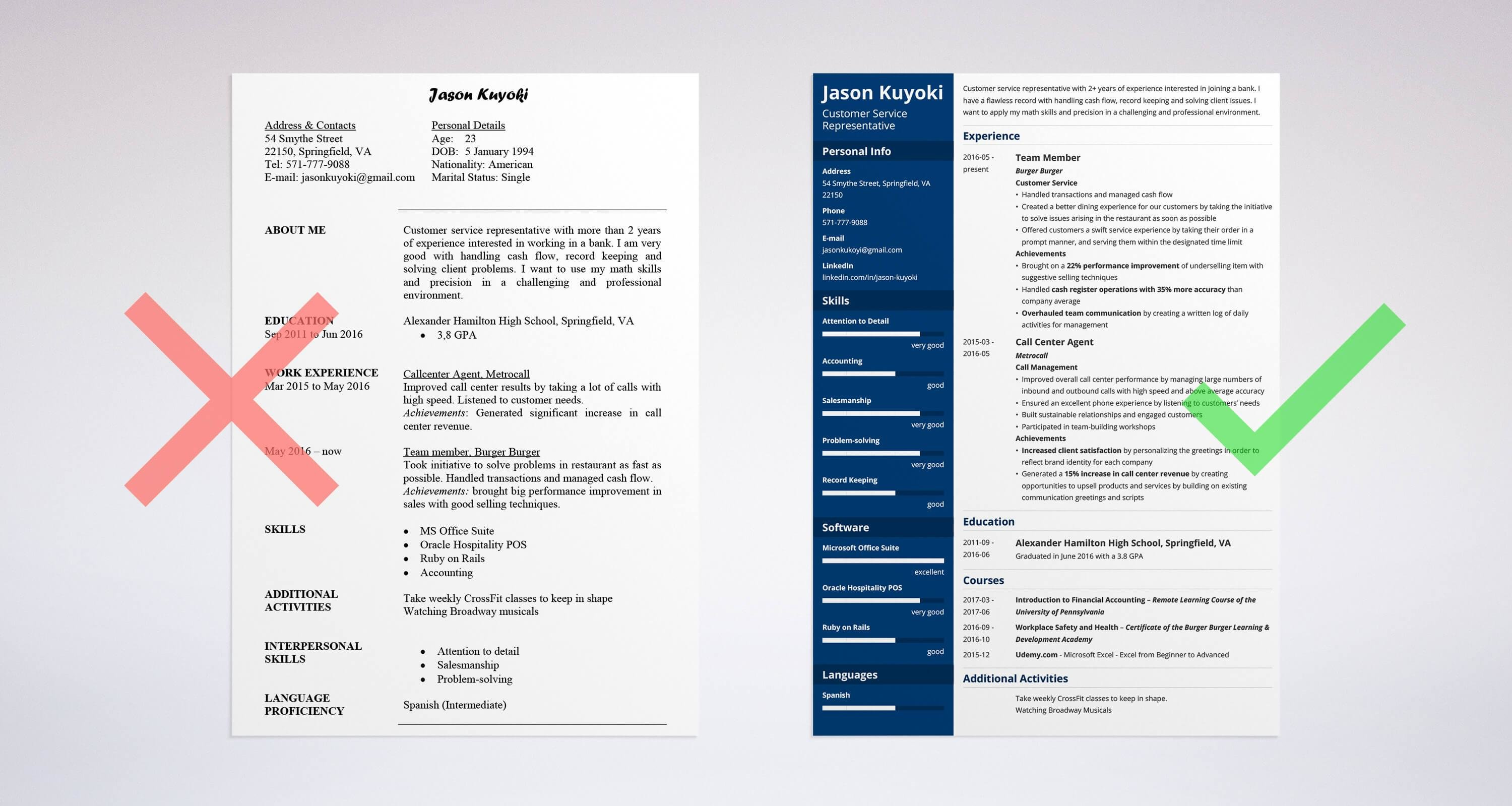 Uptowork  Teller Resume Sample