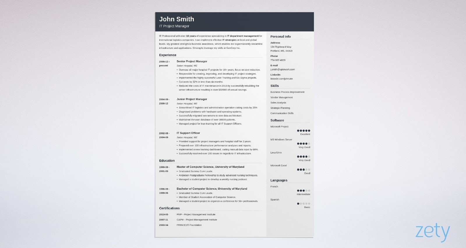 Top 14 Best Resume Templates to Download in 2019 [Also Great for CV]