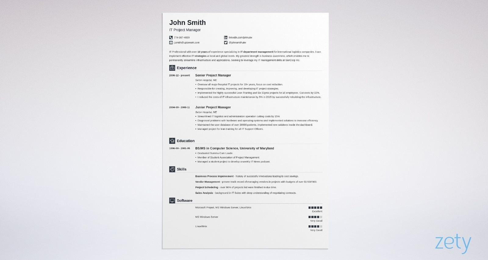 14 Simple Resume Templates Basic Examples For Clean