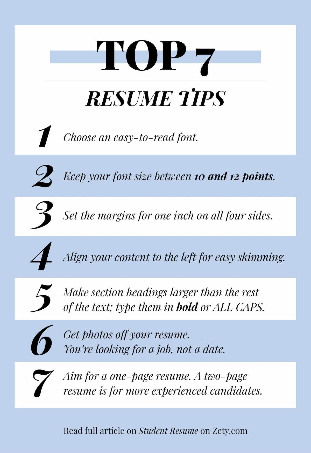 Best resume tips you should follow