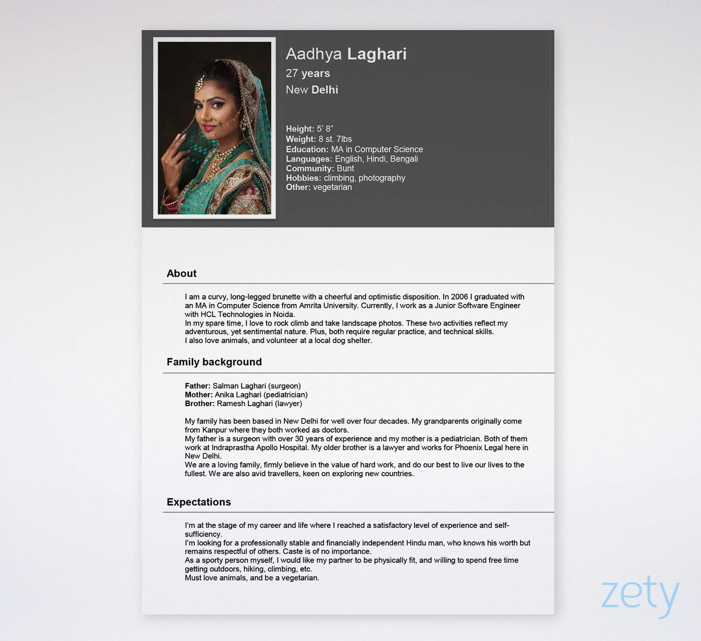 biodata format  free templates for a job  u0026 marriage  free download