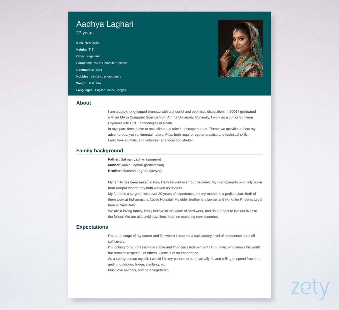 biodata_for_marriage Sample Biodata Format For Job In Pdf on