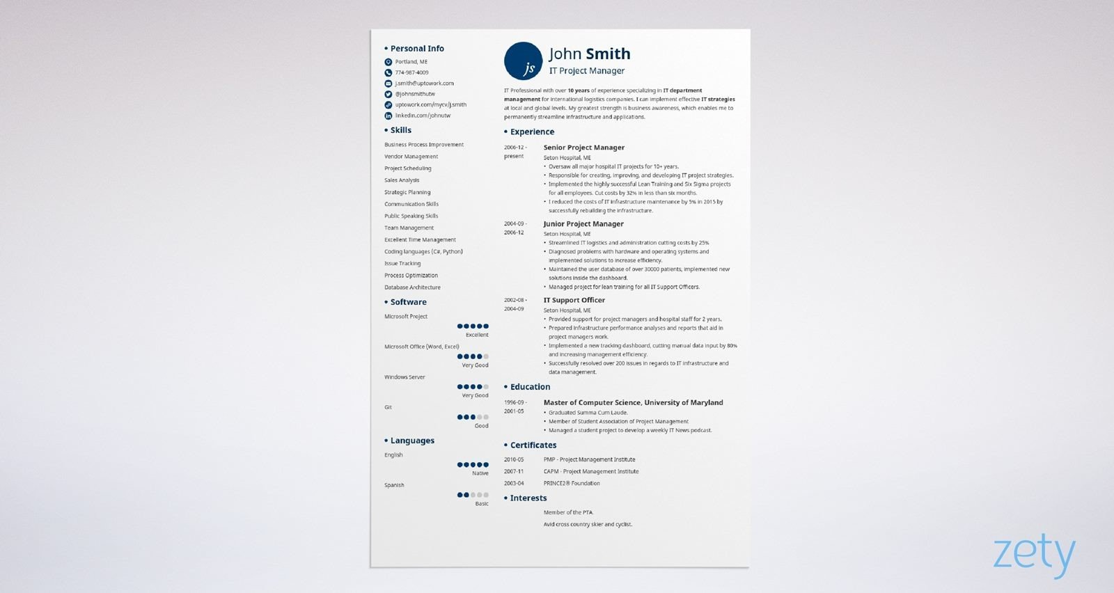 Blank Resume Templates: 15+ Best Blank Resume Forms to Fill ...