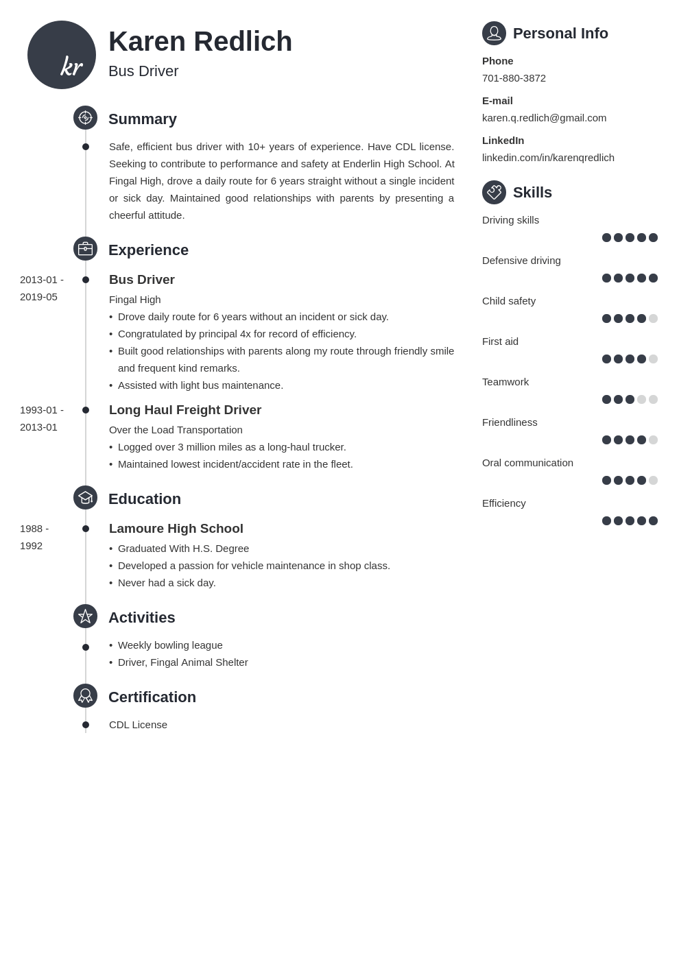 bus driver resume example template primo