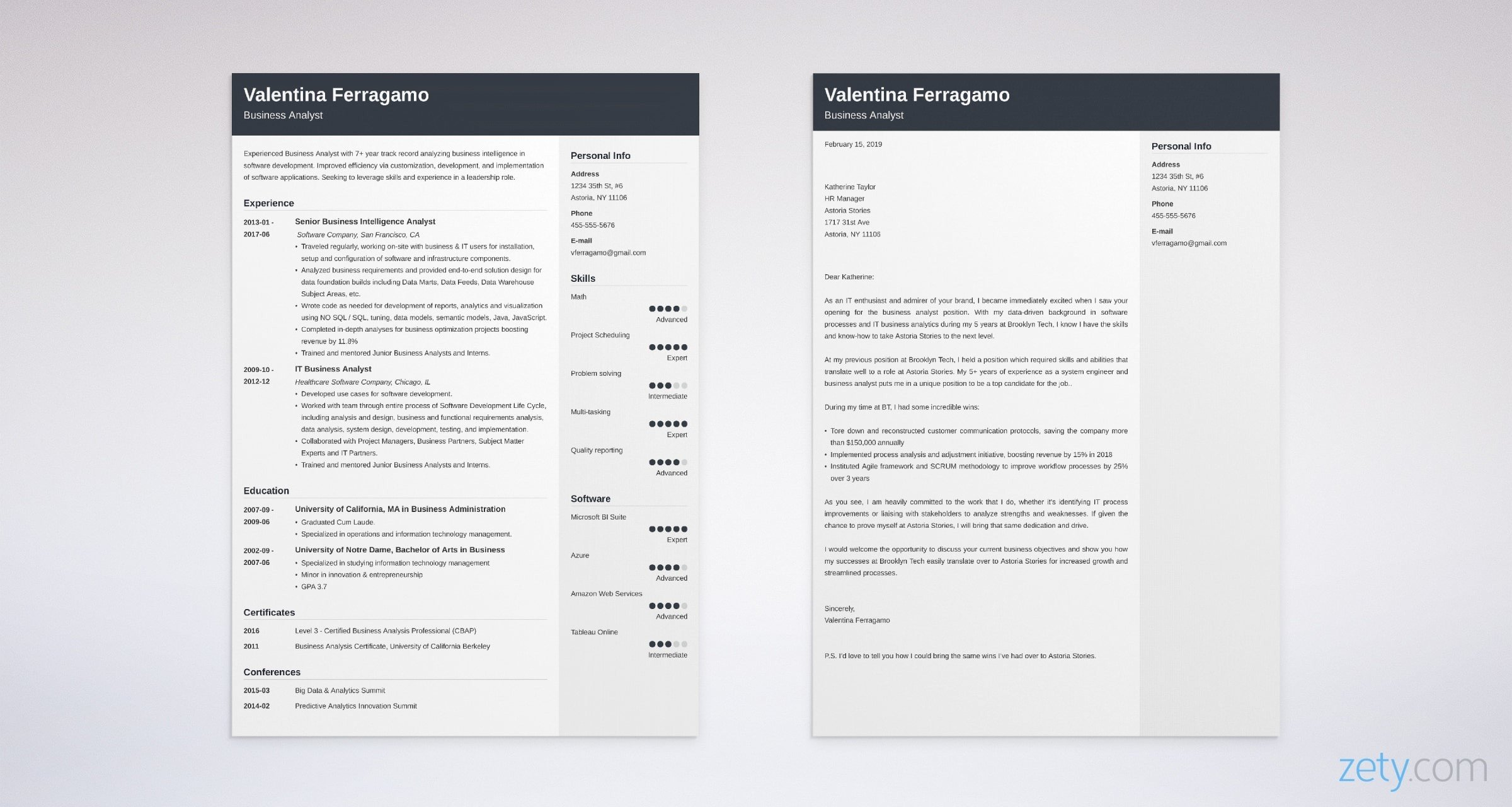 Business Analyst Cover Letter: Sample & Full Guide [20+ ...