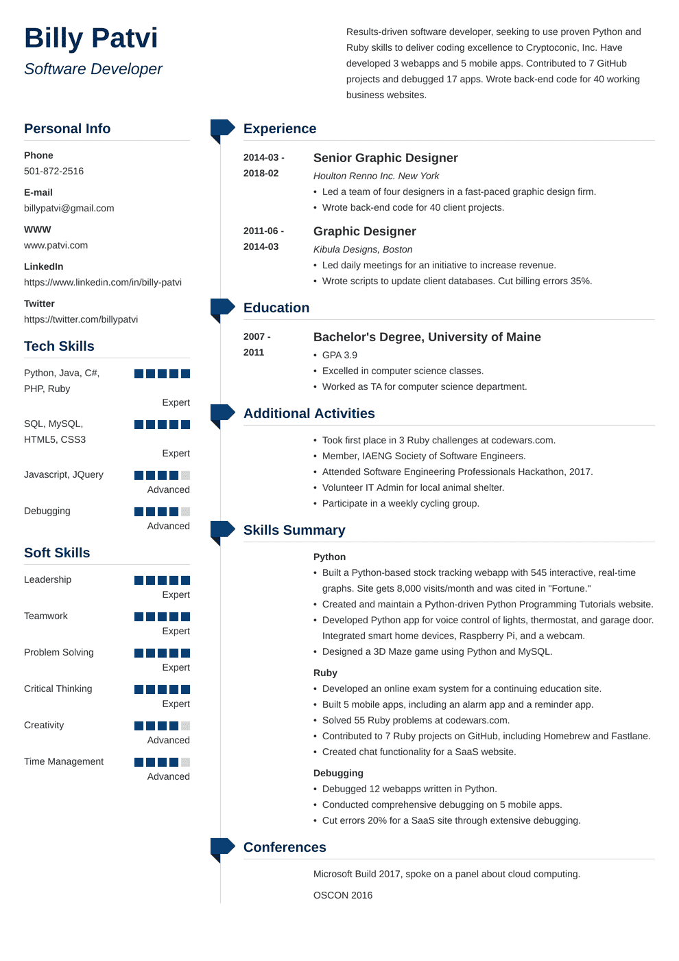 Career Change Resume: Sample and Complete Guide [+20 Examples]