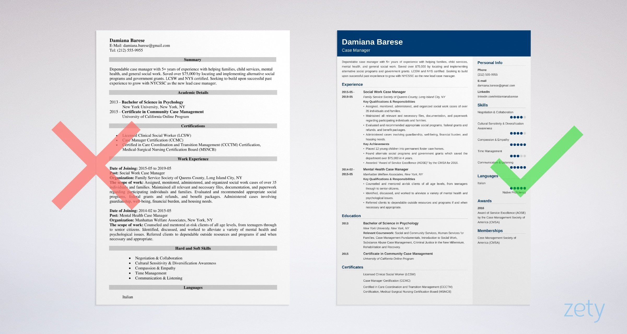 Case Manager Resume | Case Manager Resume Sample Complete Writing Guide 20 Tips