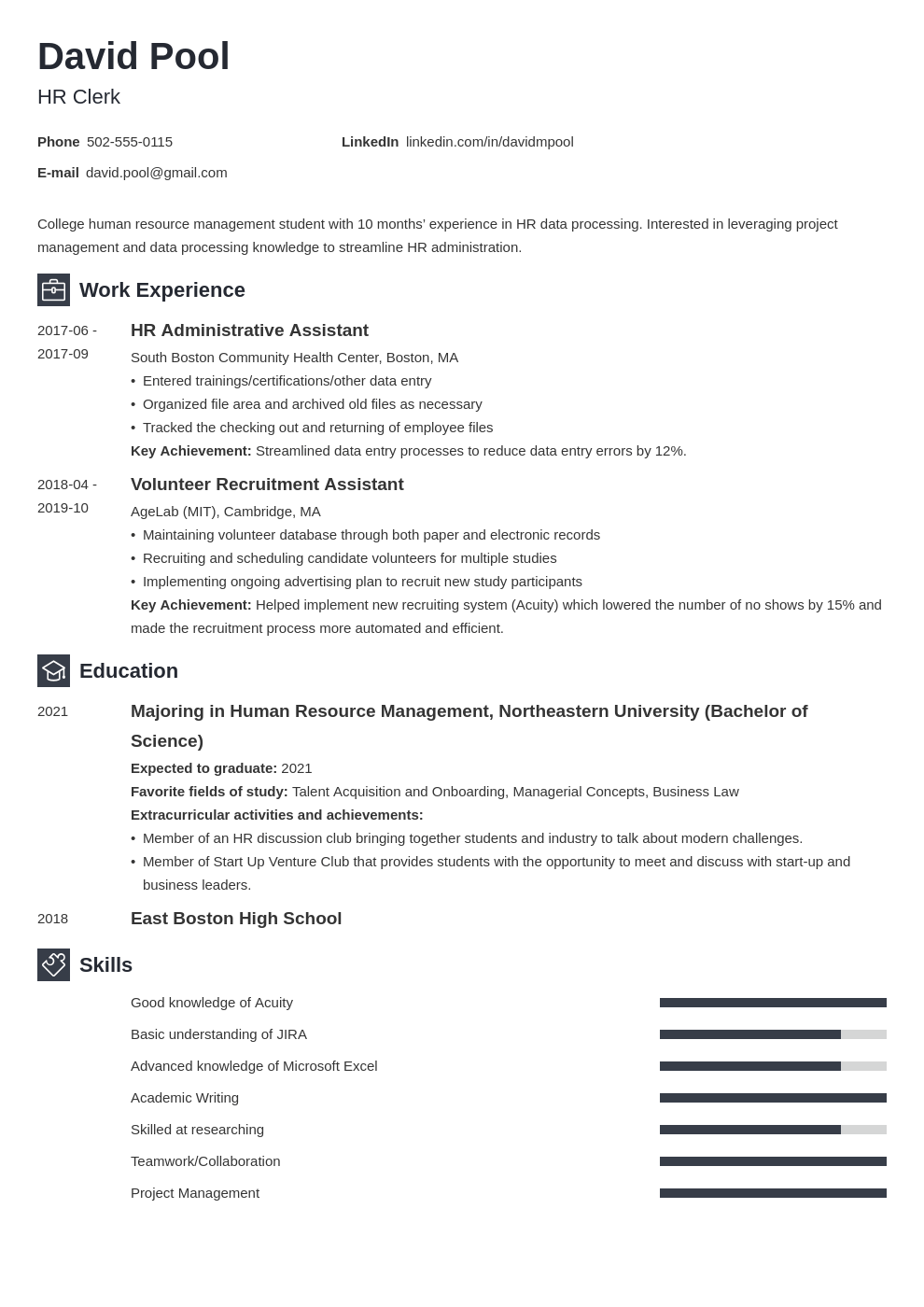 college freshman resume template  u0026 guide  20  examples