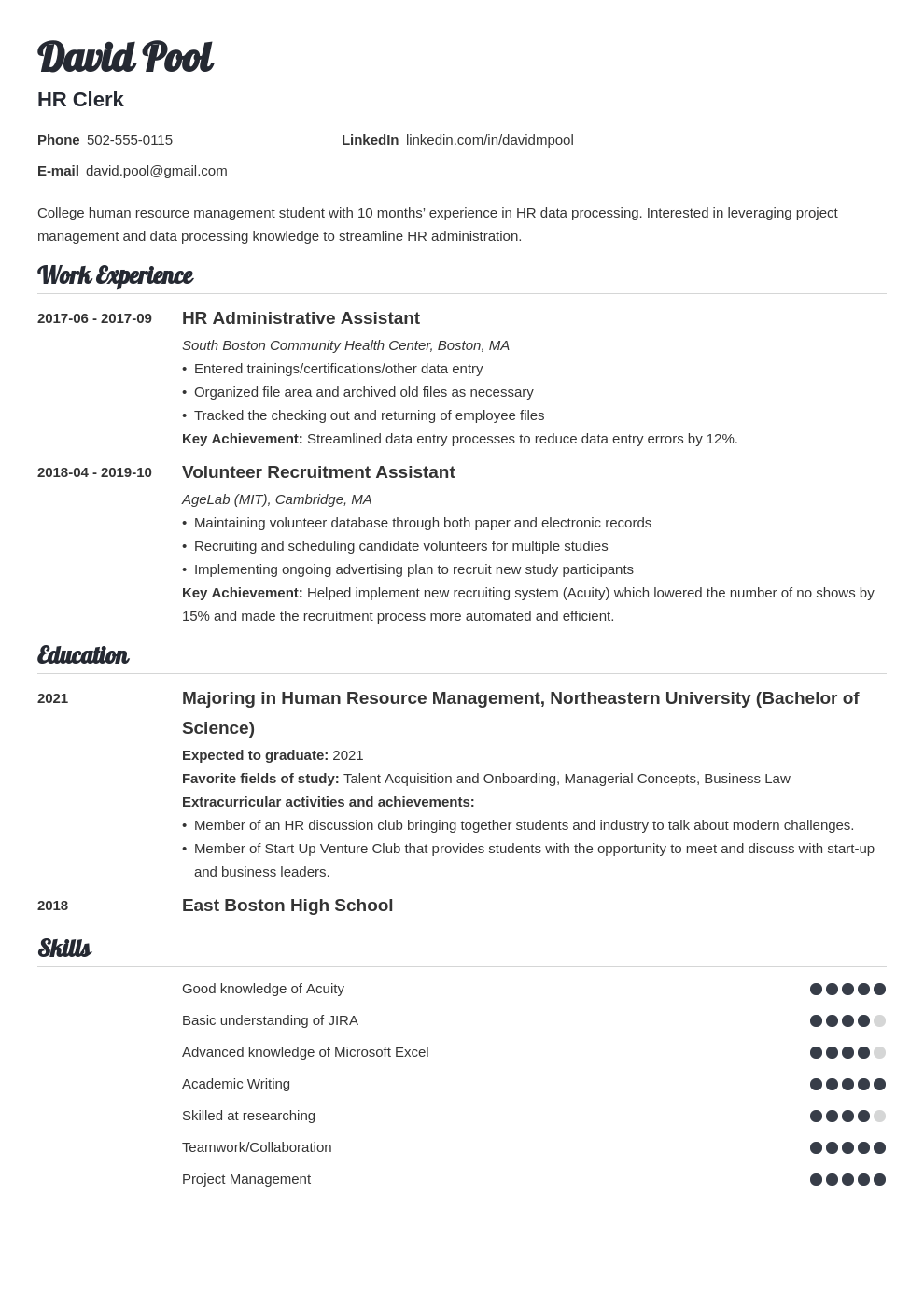 college freshman resume example template valera