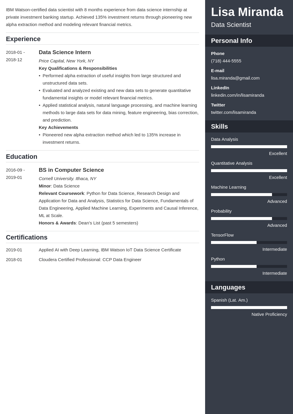 college graduate resume example template enfold