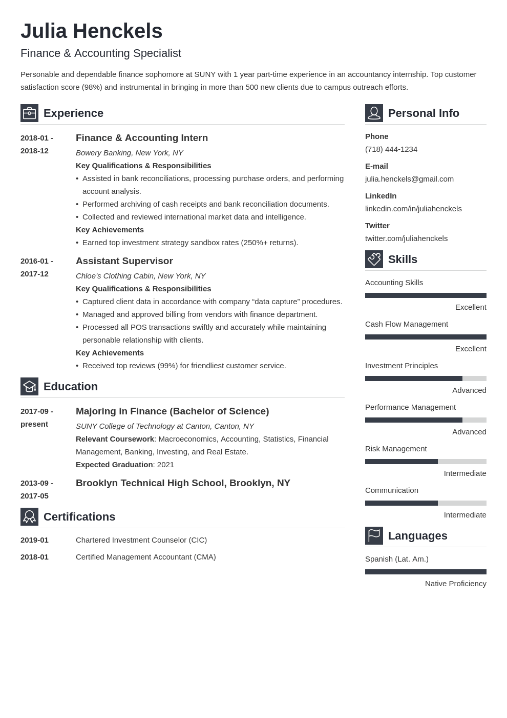 college student resume example template vibes