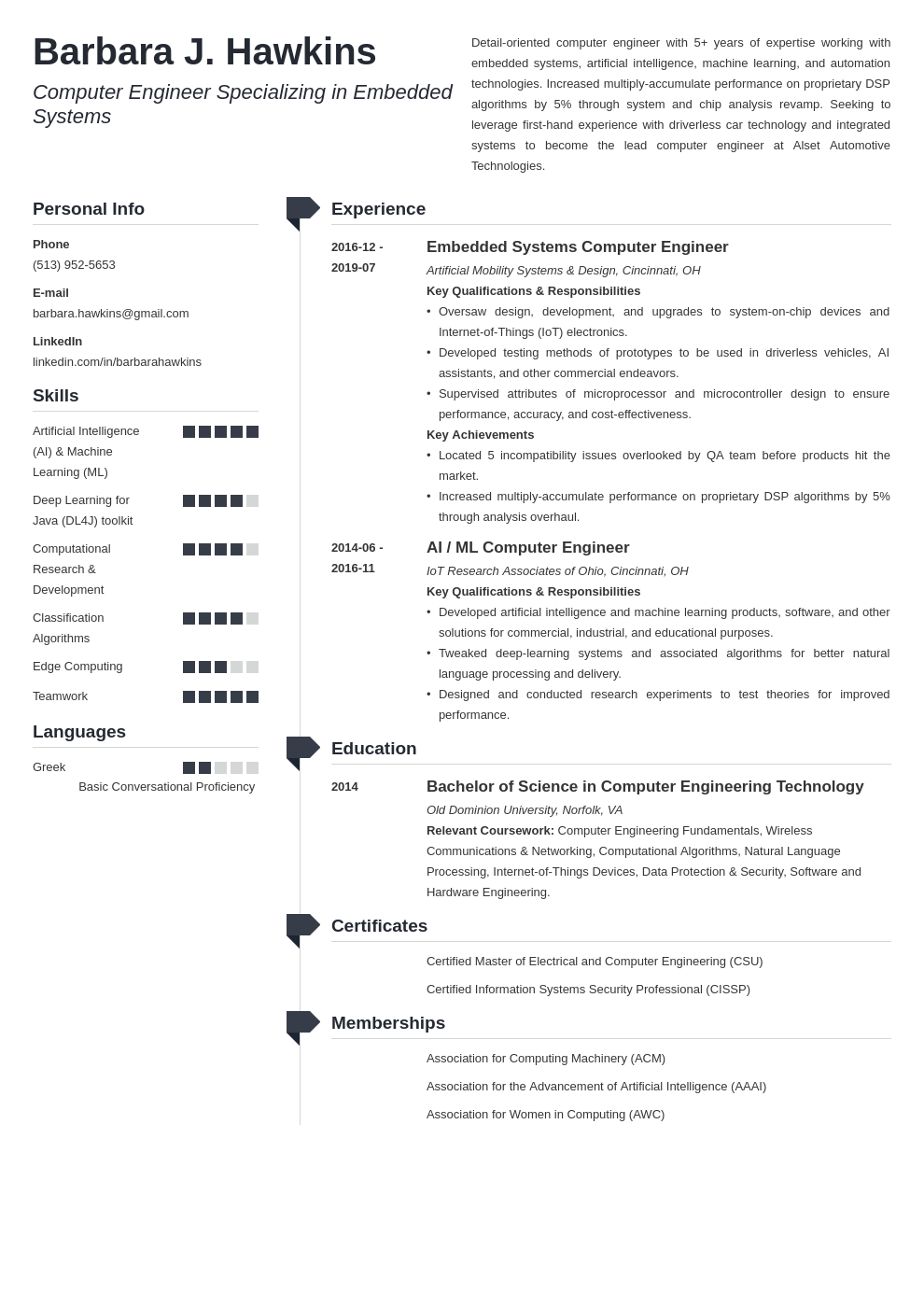 computer engineering resume example template muse