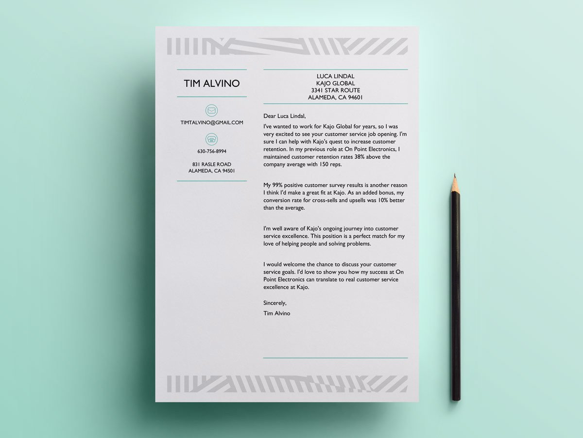 12 Cover Letter Templates for Word Doc (Free Download)