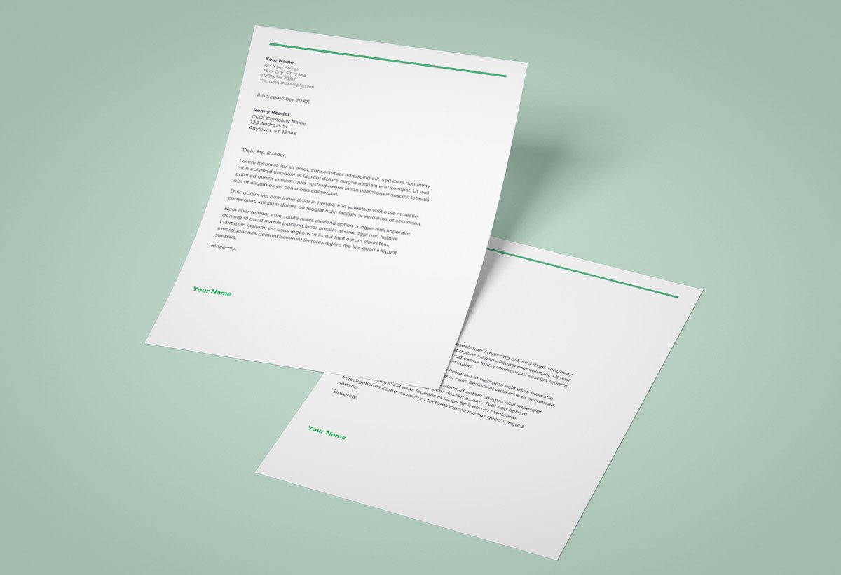 9+ Google Docs Cover Letter Templates to Download Now