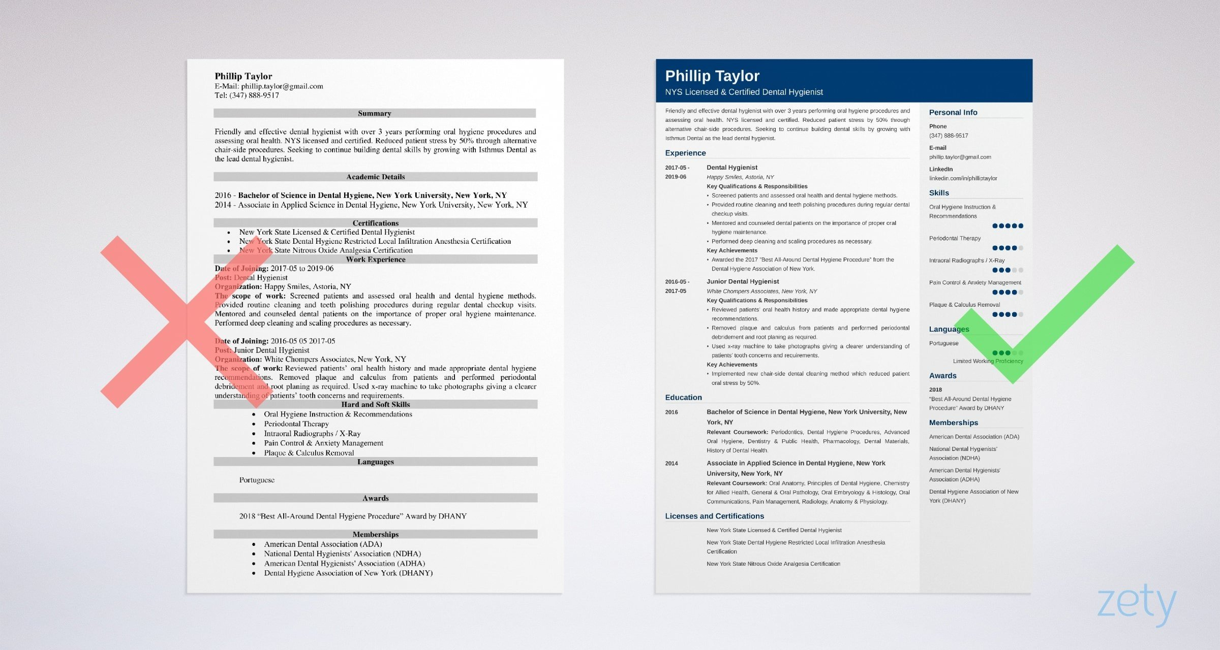 dental hygienist resume sample  u0026 20  tips