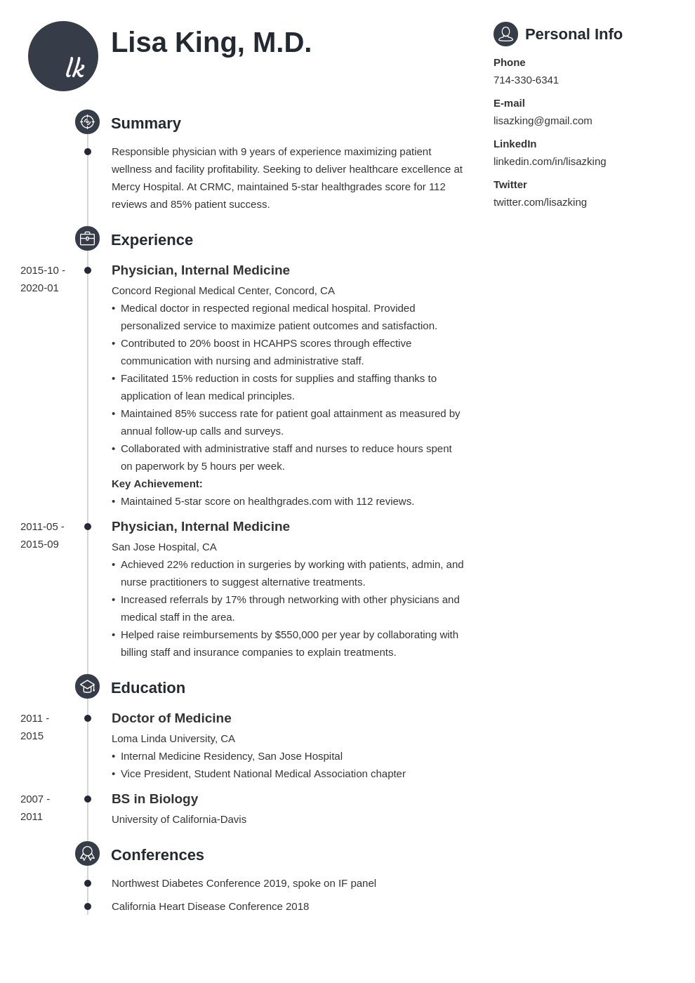doctor resume example template primo