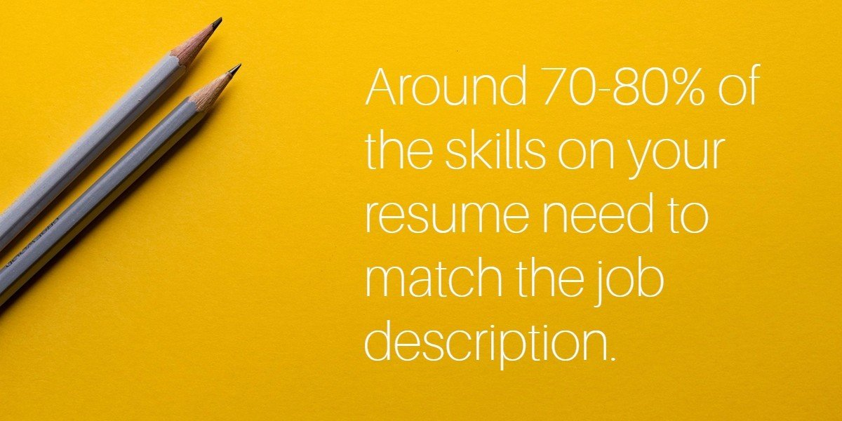 keyword skills that match a job descrition - Skills For A Job Resume