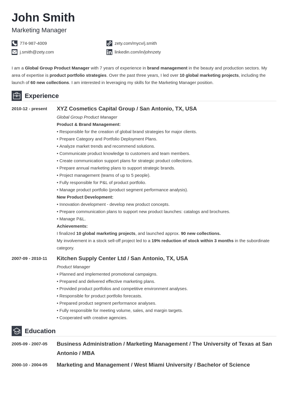 expected completion of degree on resume