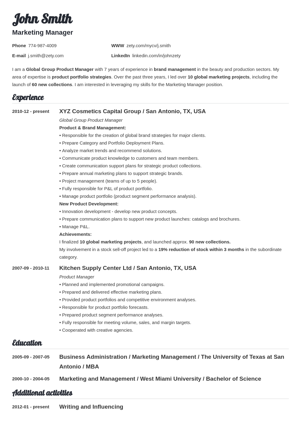 Education history on resume literature review executive coaching