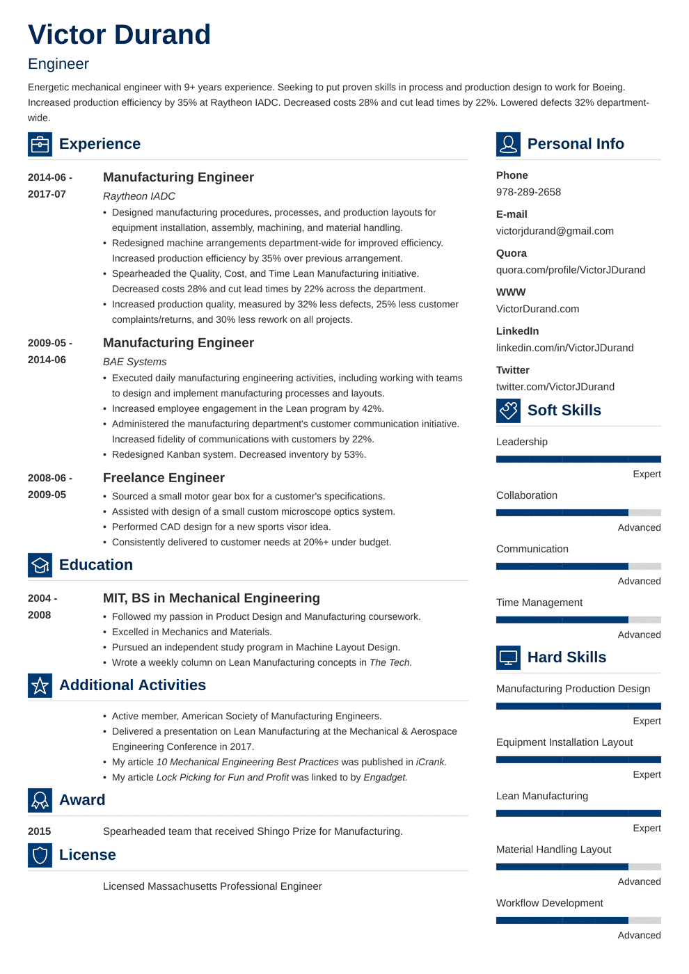 Engineering Resume: Templates, Examples & Essential Skills