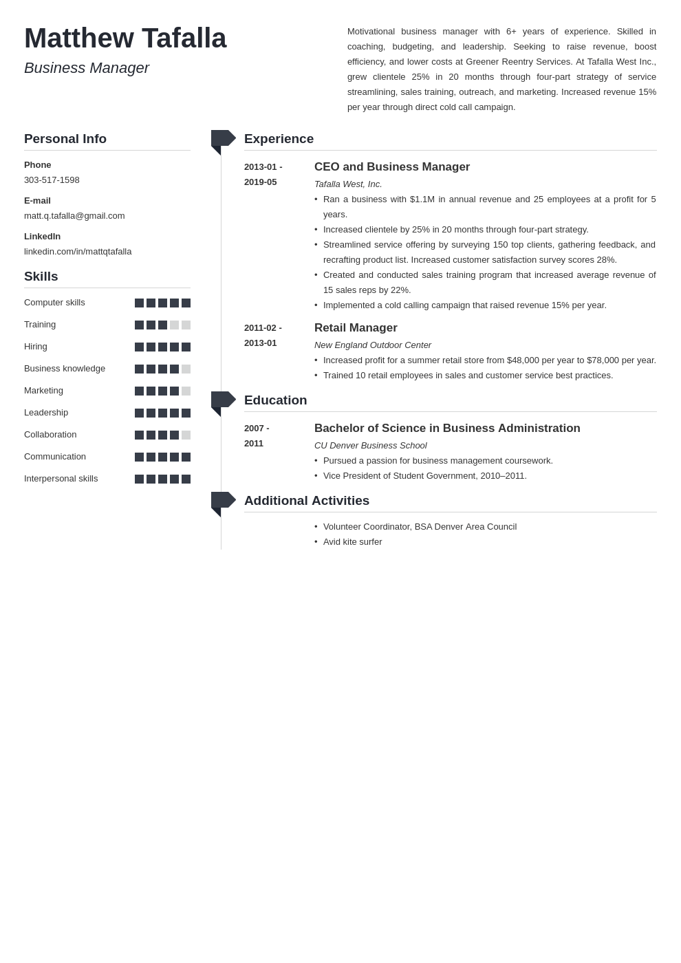 entrepreneur resume example template muse