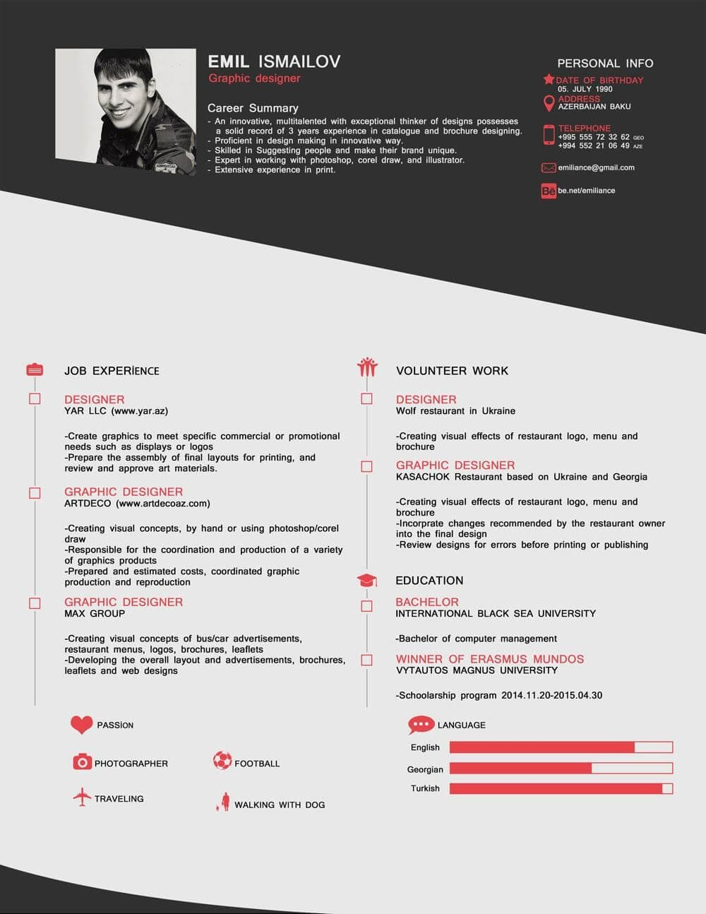 free resume template word