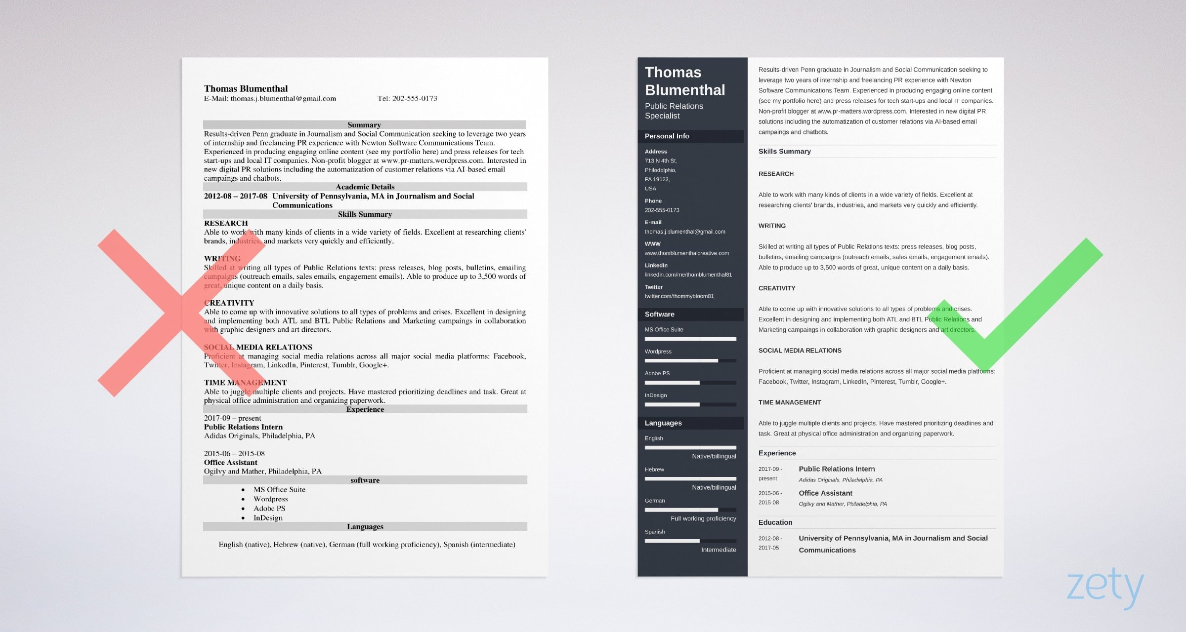 Functional Resume Examples Skills Based Templates