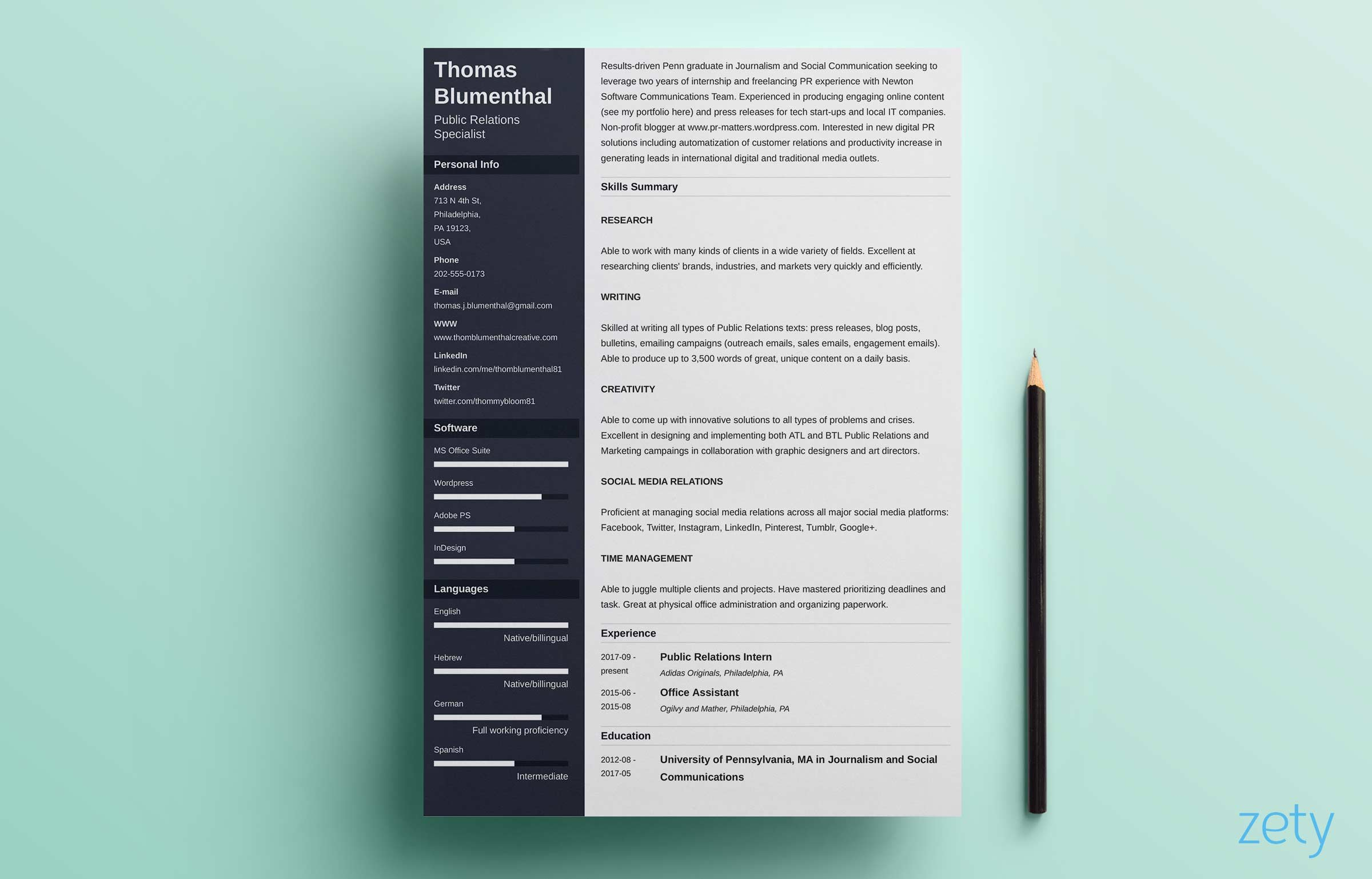 Functional Resume  Sample Of Functional Resume
