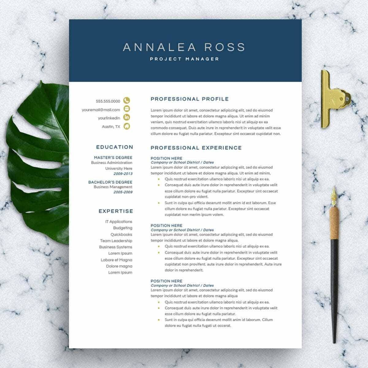 good resume templates  15 examples to download  u0026 use right