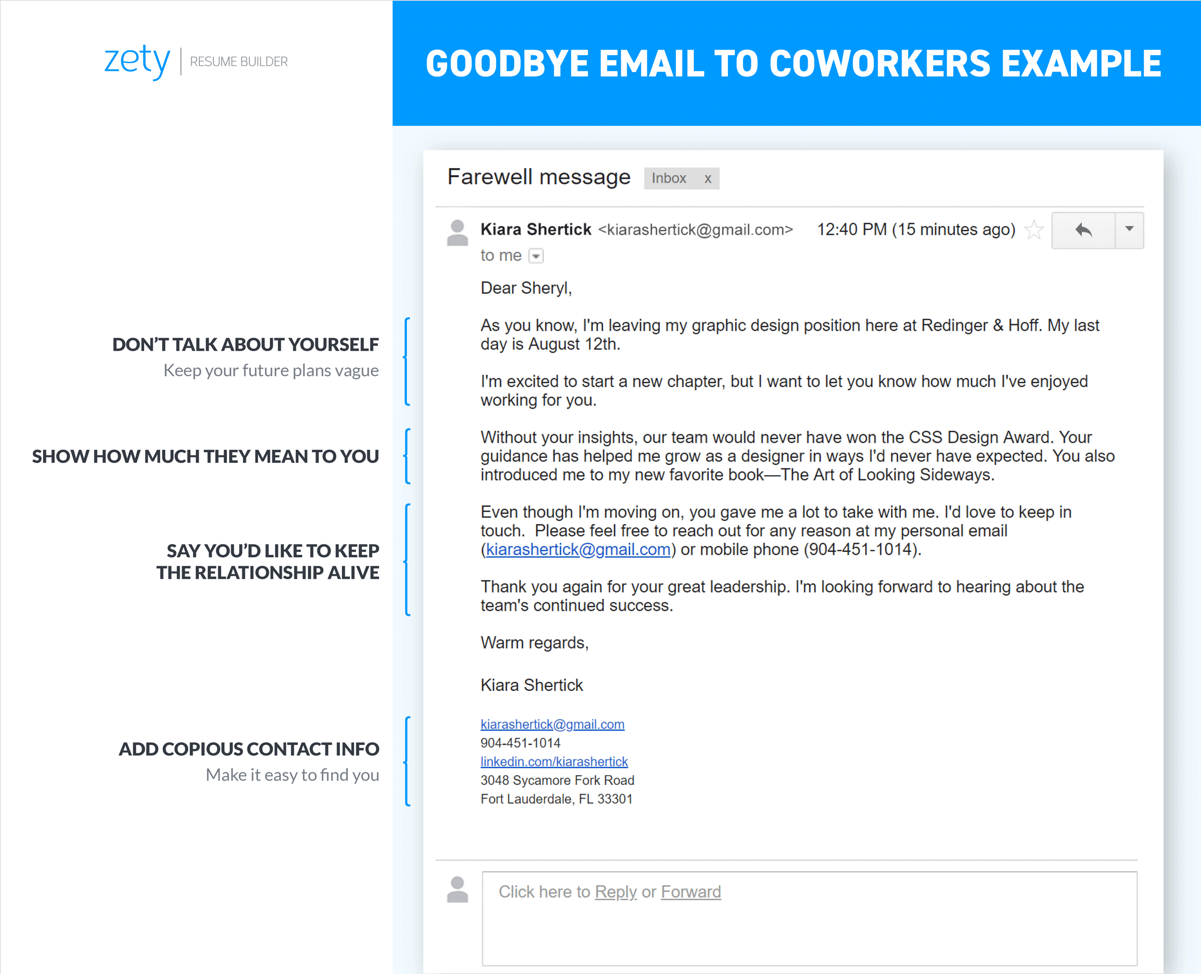 Goodbye Email to Coworkers & Why You Need Them [10+ Examples]