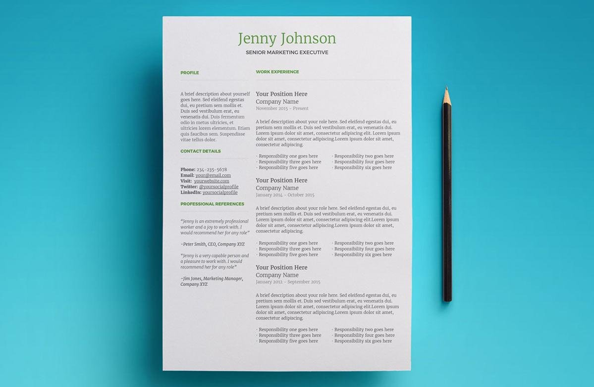 best google doc resume template with two columns